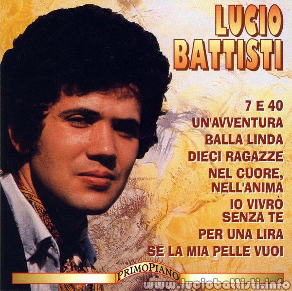 LUCIO BATTISTI (collana Primo Piano volume 1)