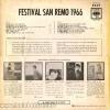 FESTIVAL SANREMO 1966