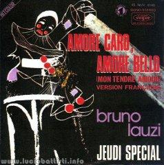 Amore caro, amore bello (Mon tendre amour) / Jeudi special