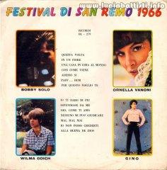 FESTIVAL DI SAN REMO 1966