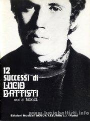 12 successi di Lucio Battisti