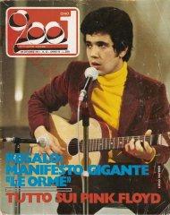 CIAO 2001 n. 42 - 20 ottobre 1971