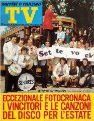 SORRISI E CANZONI TV n. 25 - 21 giugno 1970