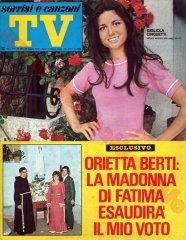 SORRISI E CANZONI TV n. 30 - 26 luglio 1970