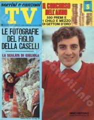SORRISI E CANZONI TV n. 49 - 5 dicembre 1971