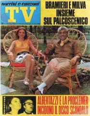 SORRISI E CANZONI TV n. 37 – 14 settembre 1969