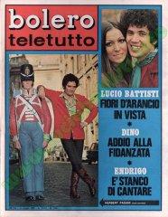 BOLERO TELETUTTO n. 1150 - 11 maggio 1969