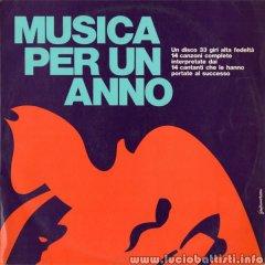 MUSICA PER UN ANNO
