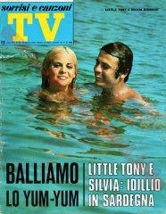 SORRISI E CANZONI TV n. 34 - 25 agosto 1968