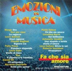 EMOZIONI IN MUSICA - FA CHE SIA AMORE
