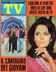 SORRISI E CANZONI TV n. 27 - 7 luglio 1968
