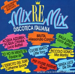 MIX-RE-MIX – DISCOTECA ITALIANA