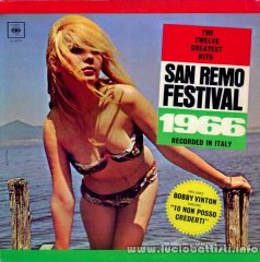 SAN REMO FESTIVAL 1966 THE TWELVE GREATEST HITS