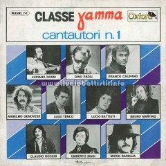 CLASSE GAMMA – CANTAUTORI NUMERO 1