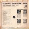 Festival San Remo 1968