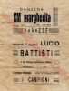 Lucio Battisti al Kursaal Margherita