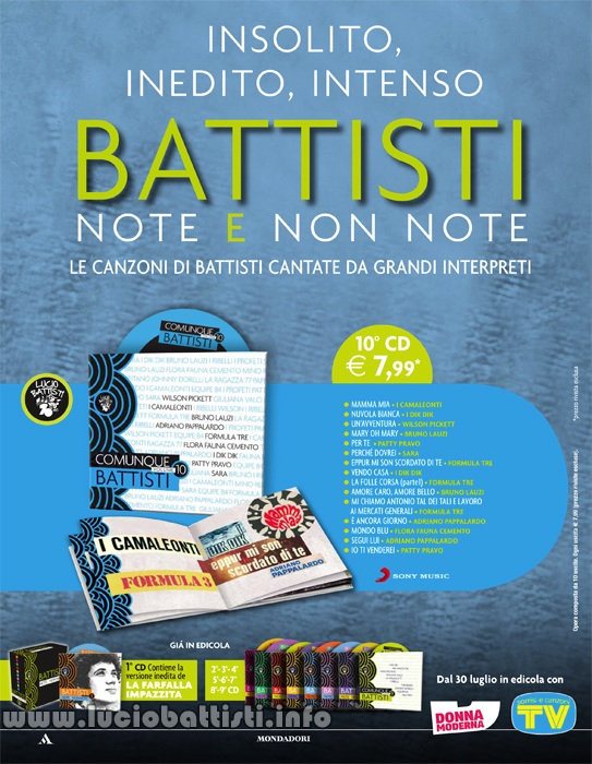 NOTE E NON NOTE Volume 10 - COMUNQUE BATTISTI Volume 2