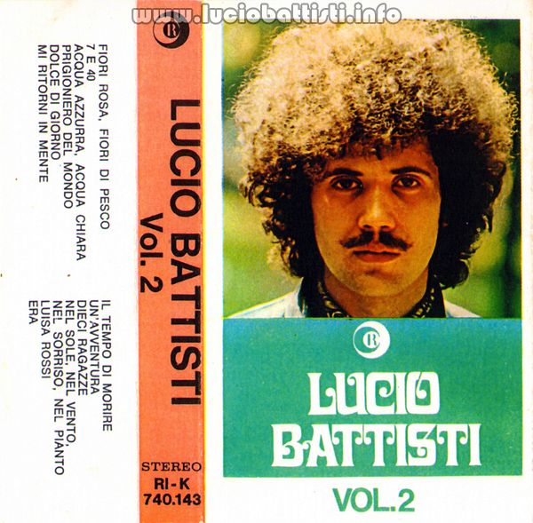 Lucio Battisti Vol.2